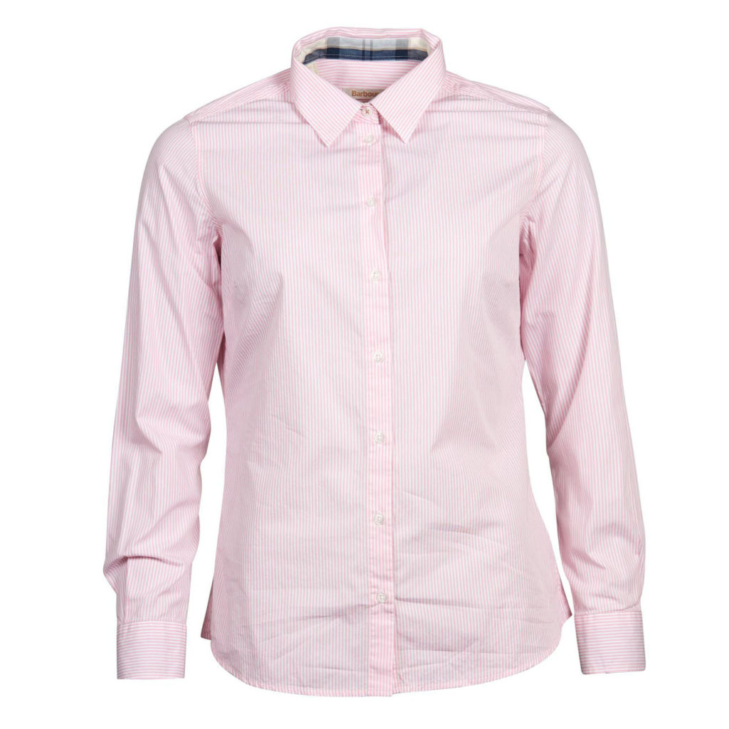 Barbour Womens Breedon Shirt Pink White