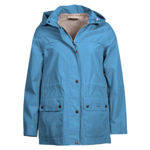 Barbour Womens Drizzel Waterproof Breathable Jacket Blue Heaven / Navy