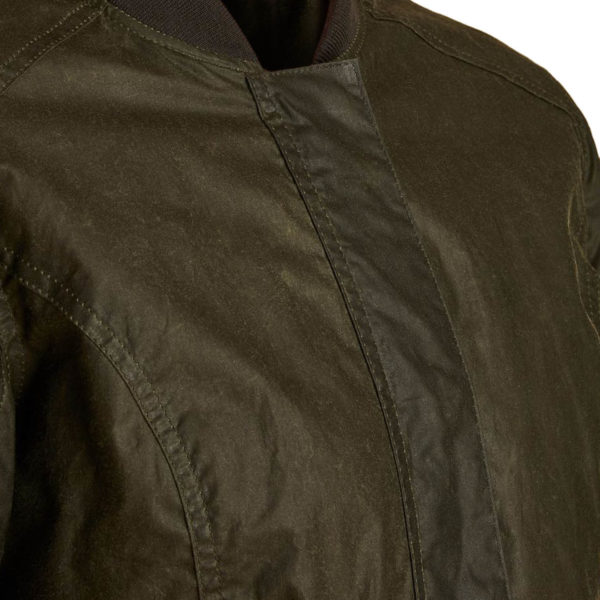 Barbour Womens Lightweight Norfolk Waxed Cotton Jacket Archive Olive
