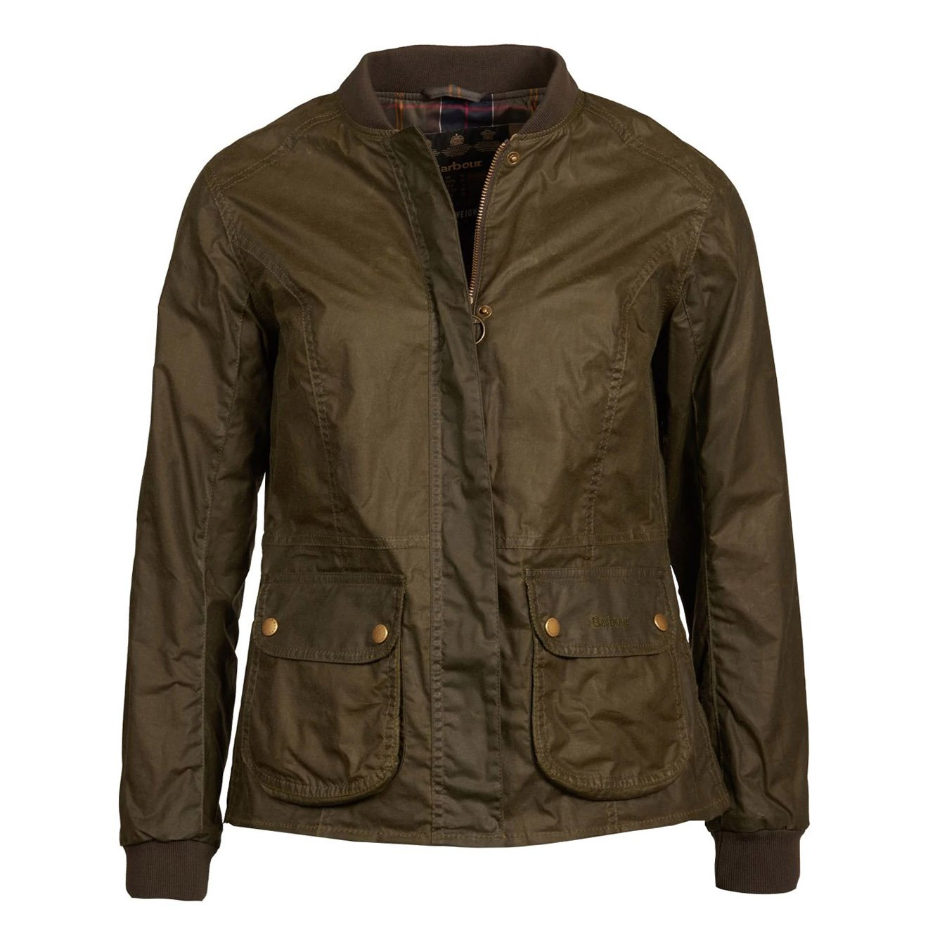 Barbour Womens Lightweight Norfolk Waxed Cotton Jacket ...