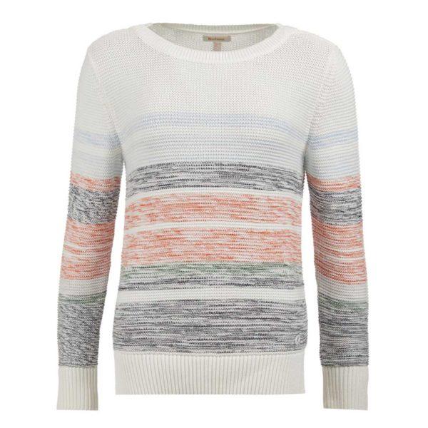 Barbour Womens Littlehampton Sweater Off White