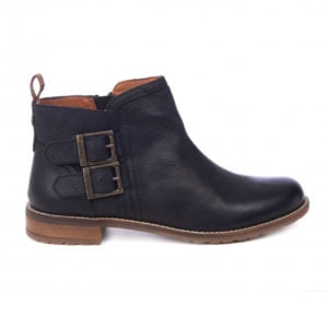 Barbour Womens Sarah Low Buckle Boots Black
