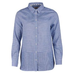 Barbour Womens Seaward Shirt Breeze Blue
