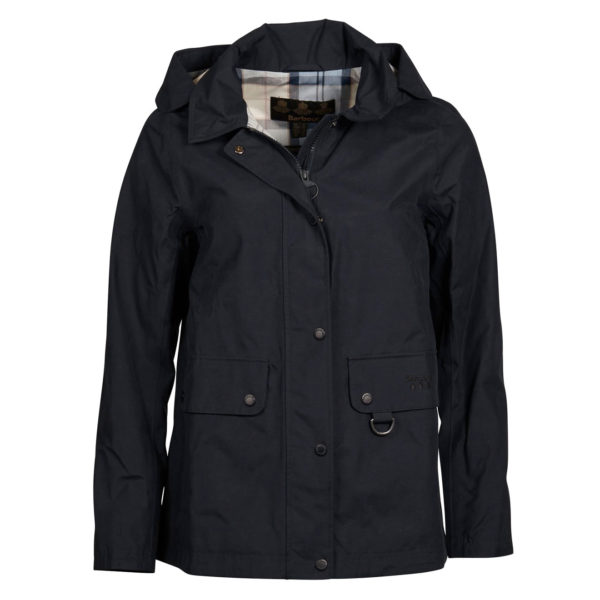 Barbour Womens Tramontane Waterproof Breathable Jacket Navy