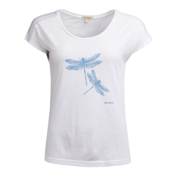 Barbour Womens Wansfell T-Shirt White