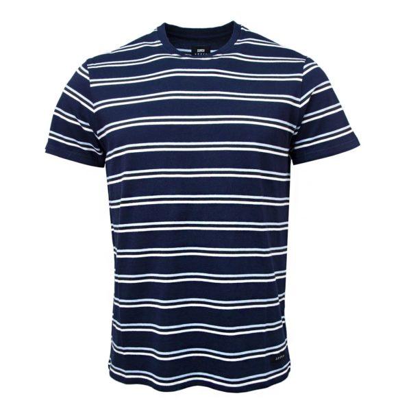 Edwin West Stripes T-Shirt Navy