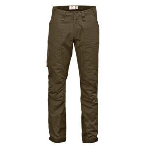 Fjallraven Abisko Lite Trekking Trousers Regular Dark Olive
