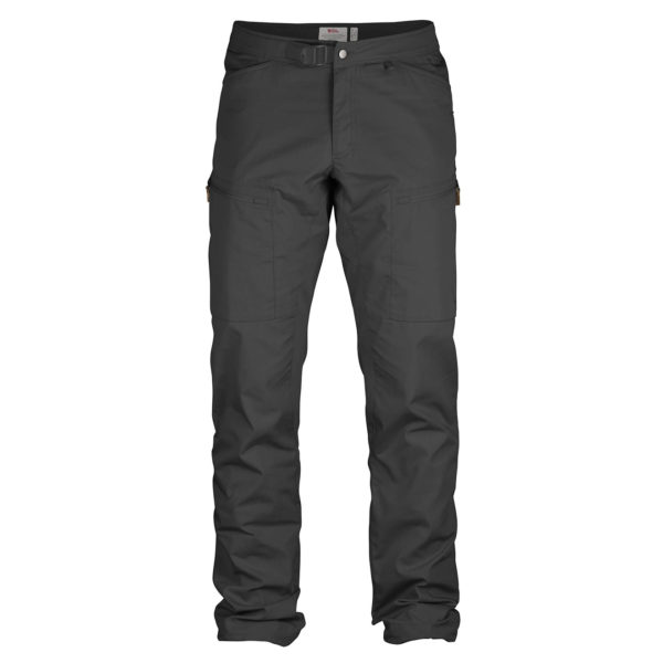 Fjallraven Abisko Shade Trousers Regular Dark Grey