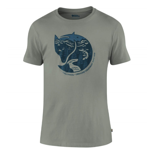 Fjallraven Artic Fox T-Shirt Fog