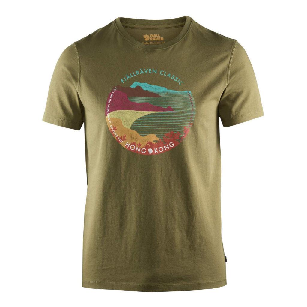 Fjallraven Classic HK T-Shirt Green