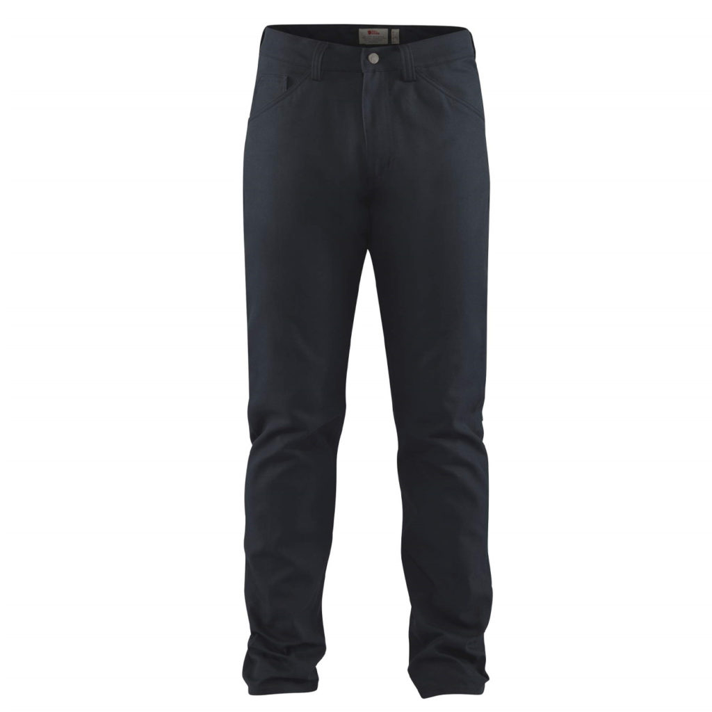 Fjallraven Greenland Canvas Jeans Dark Navy
