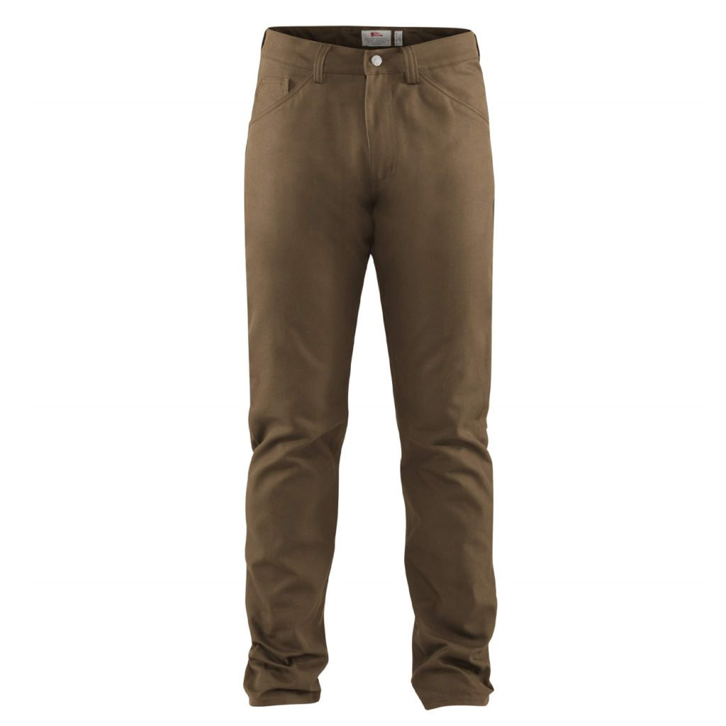 Fjallraven Greenland Canvas Jeans Dark Sand