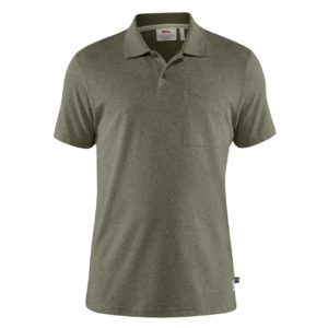 Fjallraven Greenland Re-Cotton Polo Shirt Green