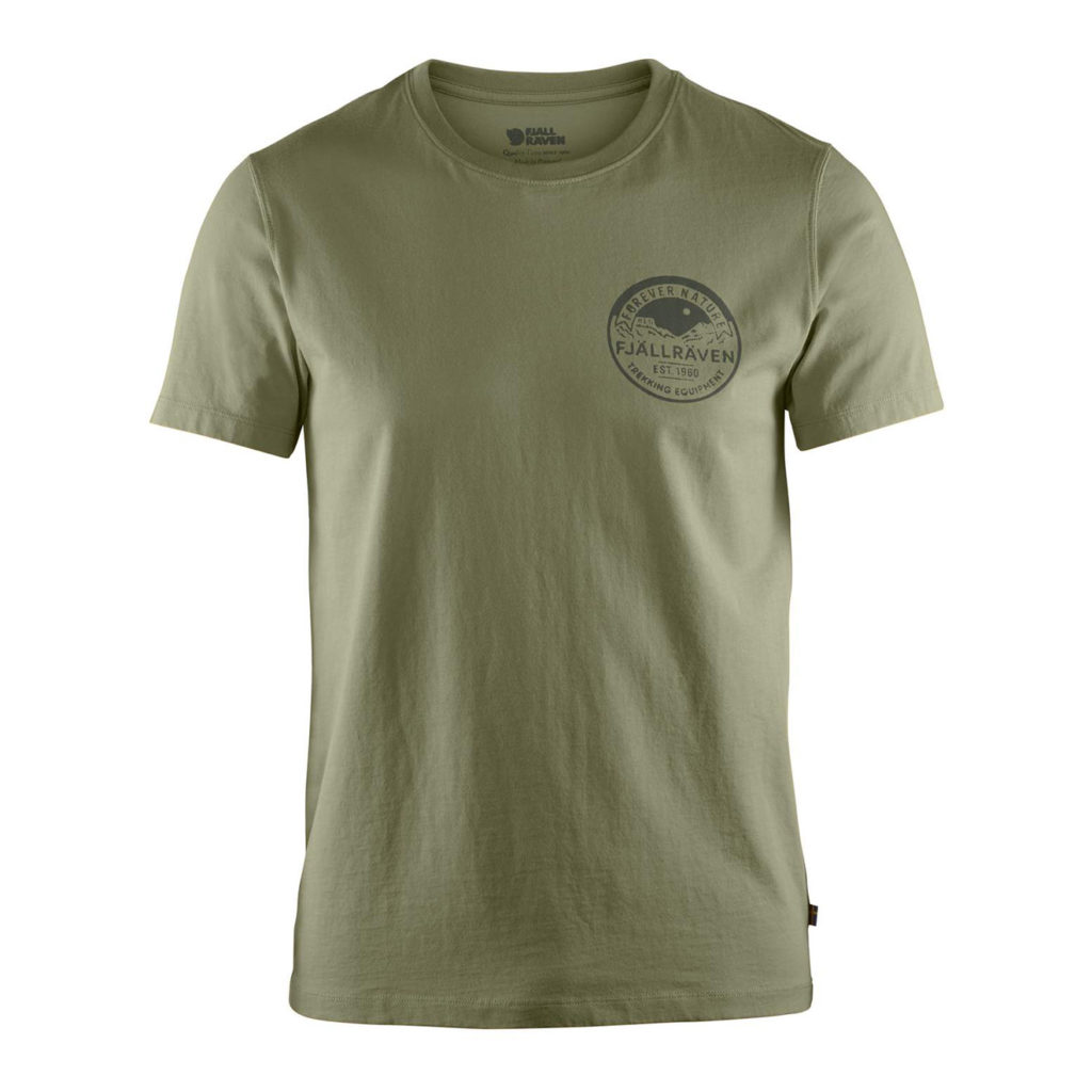 Fjallraven Nature Badge T-Shirt Green