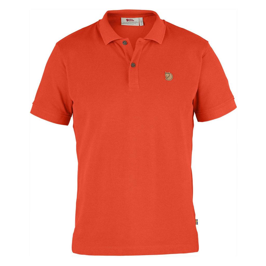 Fjallraven Ovik Polo Shirt Flame Orange