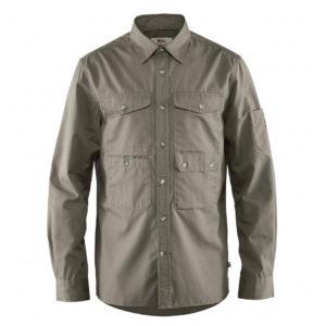 Fjallraven Ovik Shade Pocket Shirt Fog