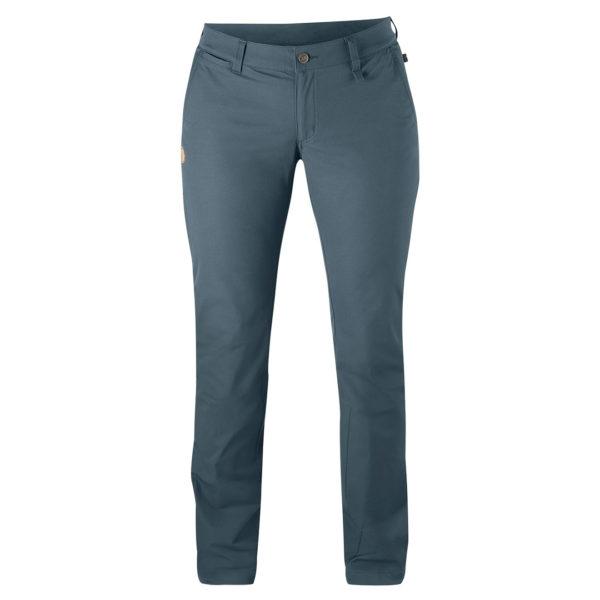 Fjallraven Womens Abisko Stretch Trousers Dusk
