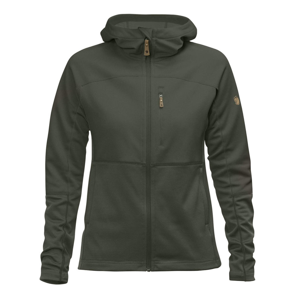 Fjallraven Womens Abisko Trail Fleece Deep Forest