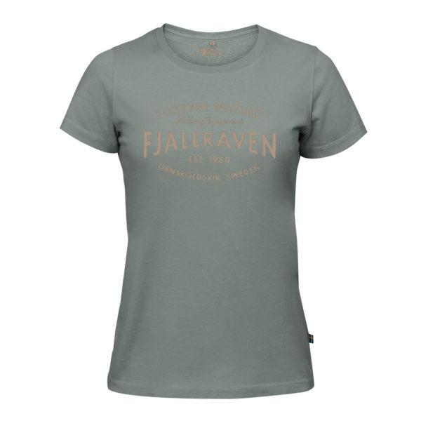 Fjallraven Womens Est. 1960 T-Shirt Sage Green