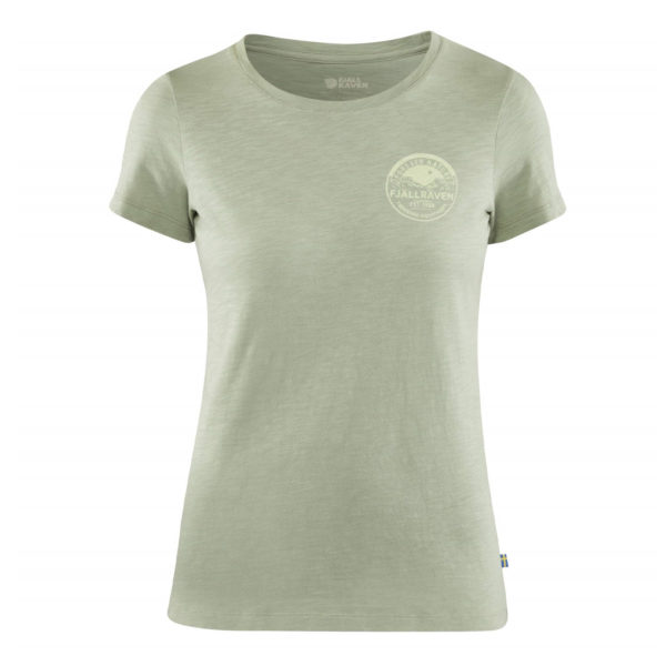 Fjallraven Womens Forever Nature Badge T-Shirt Sage Green