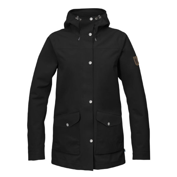 Fjallraven Womens Greenland Eco-Shell Jacket Black