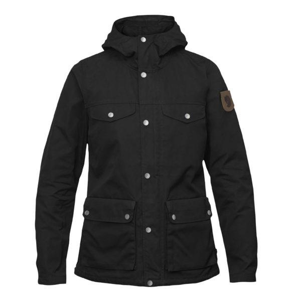Fjallraven Womens Greenland Jacket Black