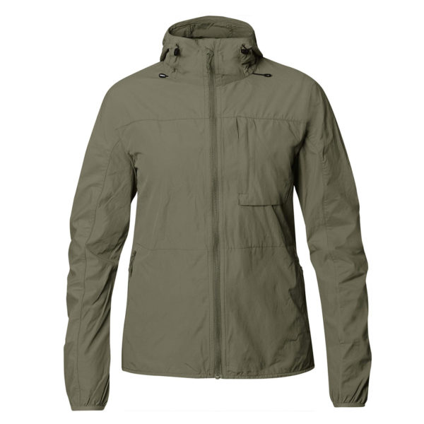Fjallraven Womens High Coast Wind Jacket Laurel Green