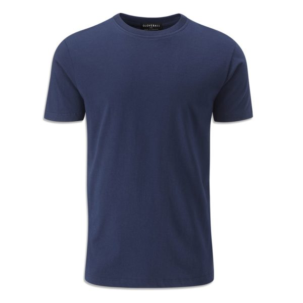 Gloverall Crew Short Sleeve Tee Navy