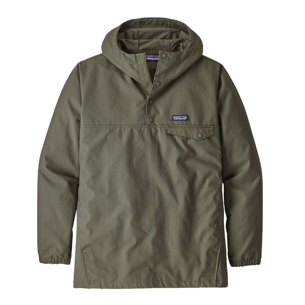 Patagonia Maple Grove Snap-T Pullover Industrial Green