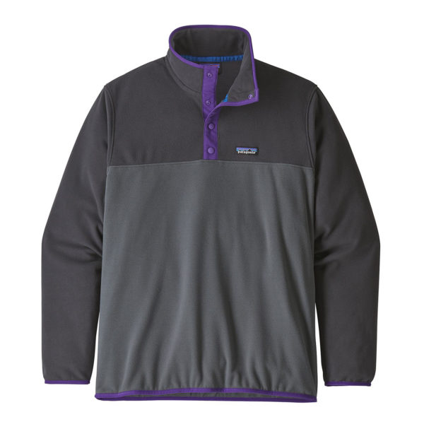 Patagonia Micro D Snap-T Fleece Pullover Forge Grey