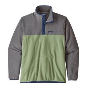 Patagonia Micro D Snap-T Fleece Pullover Matcha Green