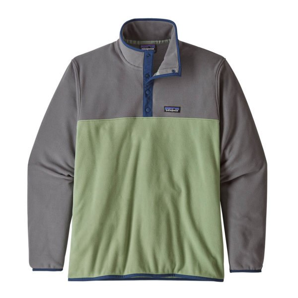 Patagonia Micro D Snap-T Fleece Pullover Matcha Green