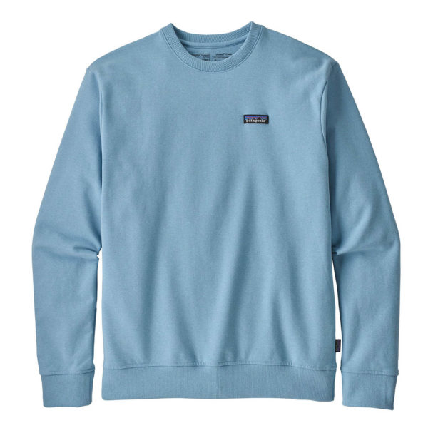 Patagonia P-6 Label Uprisal Crew Sweatshirt Break Up Blue