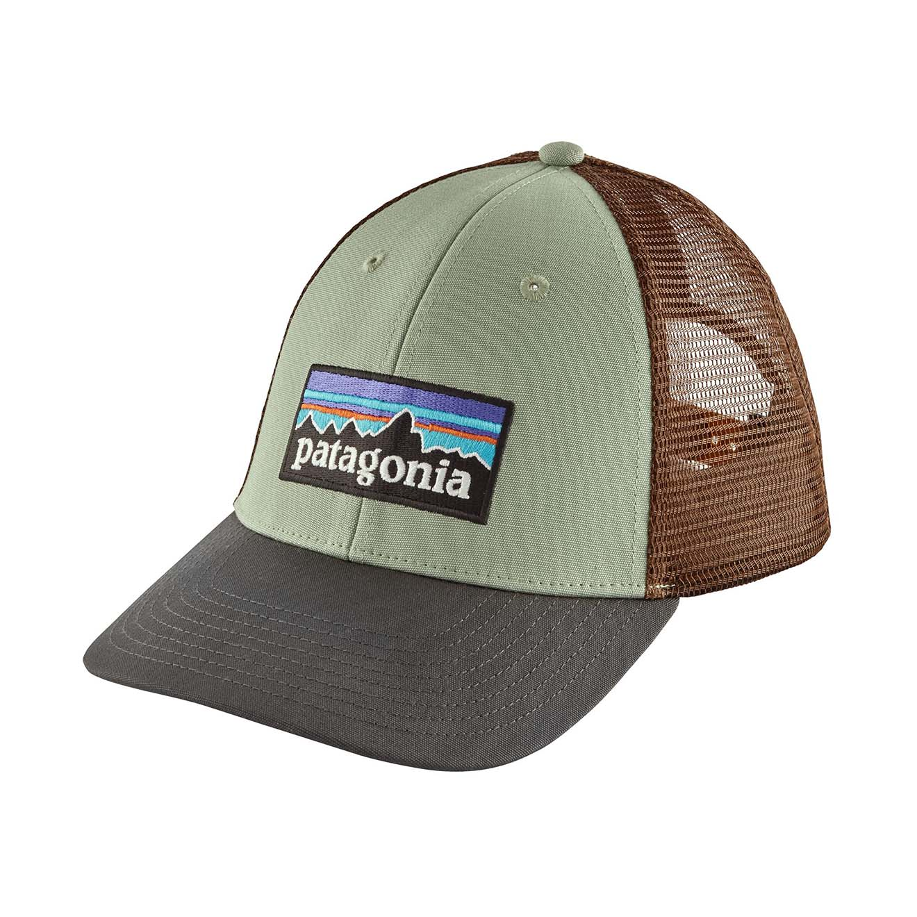 1cba4cac Patagonia P-6 Logo LoPro Trucker Hat Celadon - The Sporting Lodge