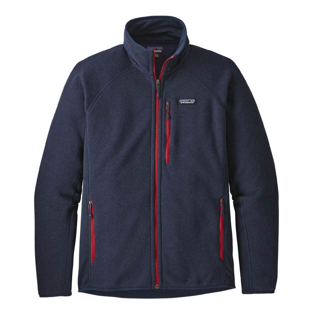 Patagonia Performance Better Sweater Fleece Jacket Navy Blue