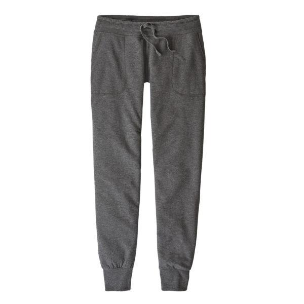 Patagonia Womens Ahnya Fleece Pants Forge Grey