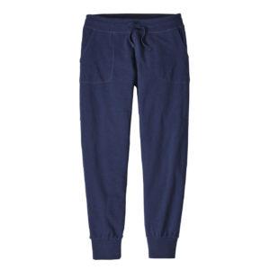 Patagonia Womens Ahnya Fleece Pants Navy Blue