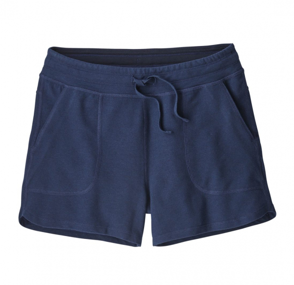 Patagonia Womens Ahnya Shorts Navy Blue
