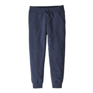 Patagonia Womens Cropped Ahnya Fleece Pants Navy Blue