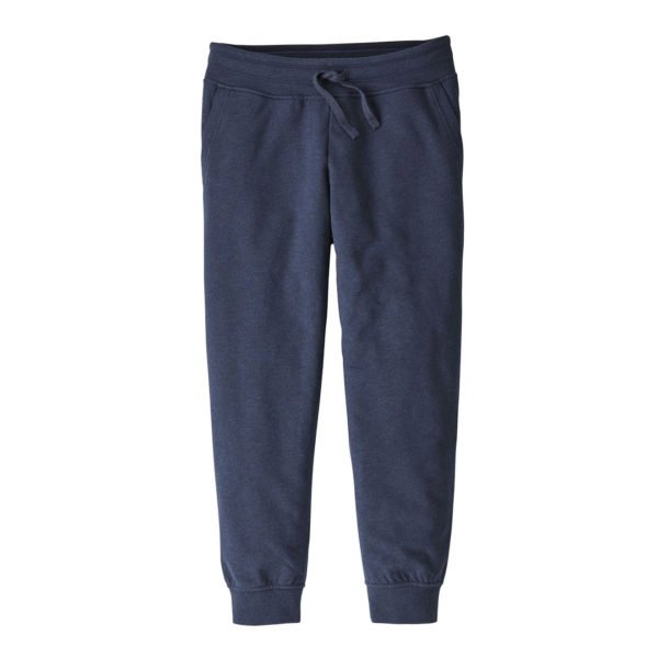 Patagonia Womens Cropped Ahnya Fleece Pants Navy Blue