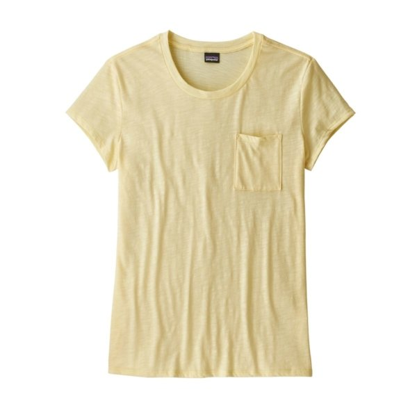 Patagonia Womens Mainstay Tee Resin Yellow