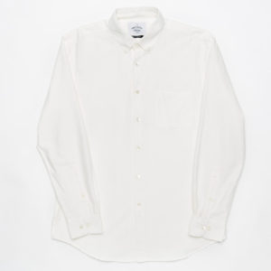 Portuguese Flannel Belvista Oxford Shirt White
