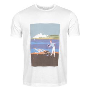 Sunspel Classic T-Shirt Camera Man Scene
