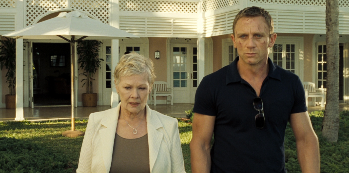 "Sunspel Riviera Polo Shirt Worn by Daniel Craig ""James Bond"" With M ""Judi Dench"""