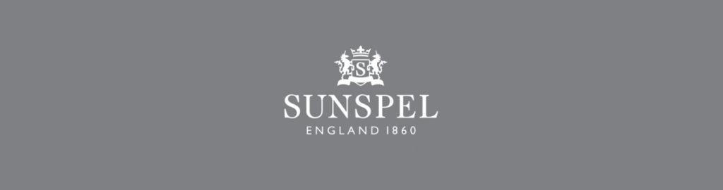 Sunspel England 1860, White on Grey Logo