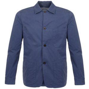 Portuguese Flannel Labura Button Jacket Navy