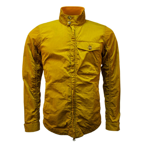 Baracuta Overshirt Garment Dyed Jacket Rust