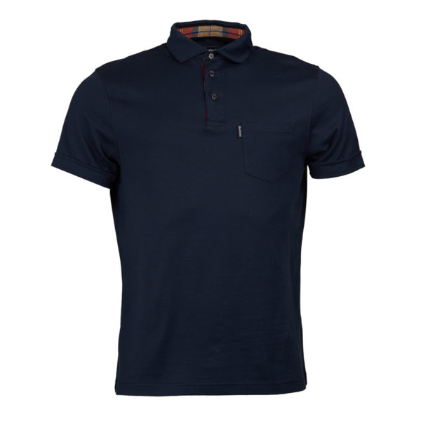 Barbour Brandreth Polo New Navy