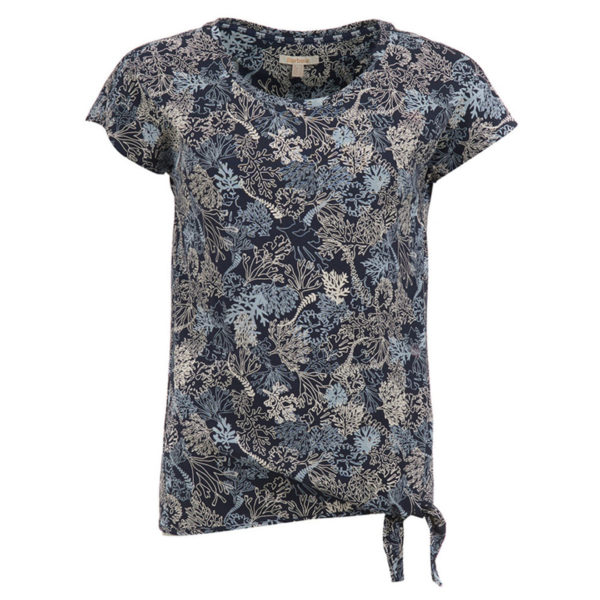 Barbour Womens Baymouth Top Navy