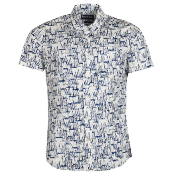 Barbour Boat S/S Shirt Ecru